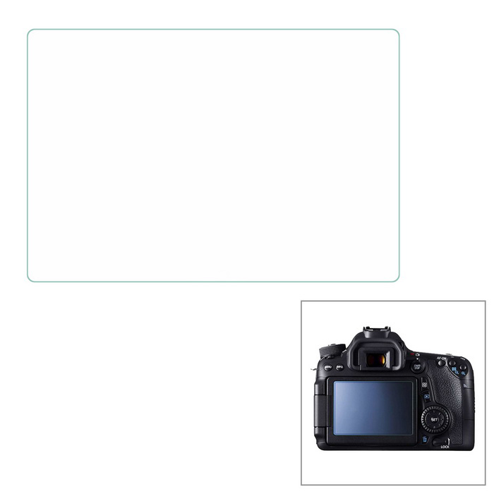 "Protective 3.0"" Tempered Glass Screen Guard Protector for Canon 650D / 700D DSLR Camera"