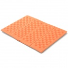 HARLEM HL-305 Foldable Outdoor Damp-proof Honeycomb Massage XPE Foam Pad / Cushion - Orange (2PCS)