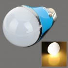 ZDM E27 5W 400LM 3500K 10-5730 SMD LED Warm White Light Bulb - Blau + Weiß (AC 200 ~ 240V)