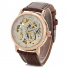 Shenhua Ladies' / Women's Butterfly Style PU Band Analog Mechanical Wristwatch - Brown (1000 PCS)