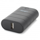 Gaoge V02 5800mAh Li-ion recarregável Power Bank para Celular / Tablet PC + Mais - Preto (2x18650)