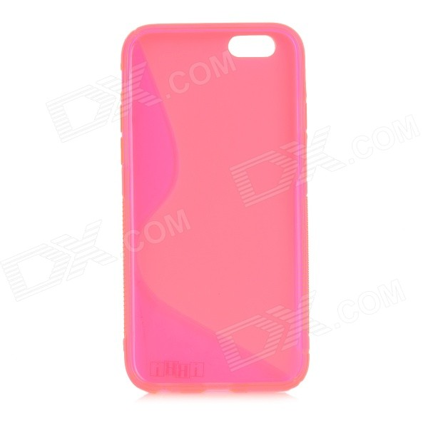 IKKI S Pattern Protective TPU Back Case for IPHONE 6 4.7'' - Deep Pink