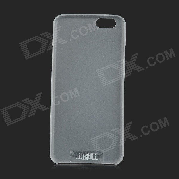 IKKI Ultra-thin Protective 0.2mm PP Back Case for IPHONE 6 4.7 - Translucent White protective silicone case for nds lite translucent white