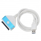 USB 3.0 to SATA 3.0 Adapting Cable for PC - White + Blue (80cm)