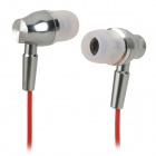 CKY EP3100 3.5mm In-Ear Stereo Earphone / Silver + Red + Black + Multi-colored (110 cm)