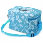 Desertfox Thickened Outdoor Oxford + Aluminum Film Warm / Cool Insulation Shoulder Bag - Blue