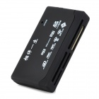 Multi-in-1 Card Reader with LED Indicator - Black