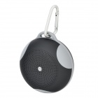 B01 Bluetooth V2.1 Speaker w/ Handsfree Call / FM / TF / Mic - Black + Grey (16GB Max.)