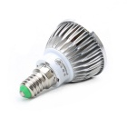 E14 8W 480lm 16-SMD 5630 LED Cool White Lamp Bulb (AC 85~265V)
