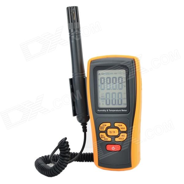 BENETECH GM1361 Digital Temperature / Humidity Meter Hygrometer / Thermometer (4 x AAA) thermostat car thermometer digital thermometer humidity u0026 temperature meter gm1361 can be accessed by k type thermocouple