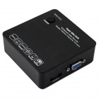 ESCAM N6200-8E 8 Channels Mini NVR 720P/1080P Network Video Recorder - Black (EU Plug)