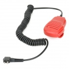 Handheld Microphone for Motorola Walkie Talkie - Red
