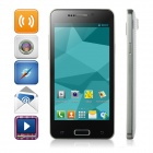 "WOLL F5 MTK6572 Dual-Core Android 4.2.2 WCDMA Bar Telefon w / 4,5 ""Screen, Wi-Fi, GPS - White + Black"