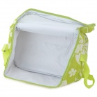 Desertfox Thickened Outdoor Oxford + Aluminum Film Warm / Cool Insulation Shoulder Bag - Green