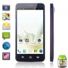 "Utime FX Android 4.2 MTK6589 Quad-Core WCDMA Bar Phone w / 5,0 ""IPS QHD, GPS, 4GB ROM, 8MP-Black"