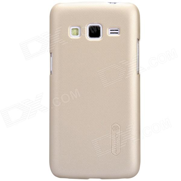 NILLKIN Matte Protective PC Back Case for Samsung G3815 (Galaxy Express 2) - Golden protective frosted abs back case for samsung galaxy express i8730 white