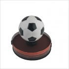 Football Style Shift Knob for Car - Black + White