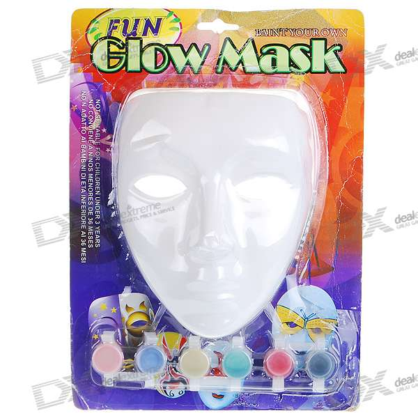 DIY Colored Drawing/Painting Mask with Paint Set