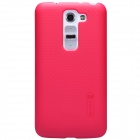 NILLKIN Protective PC Back Case w/ Screen Protector for LG G2 mini(D618) - Red