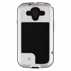 Redpepper Aluminum Alloy Glass Waterproof Case for Samsung Galaxy S3 - Silver + Black + Multicolored