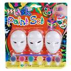 DIY Colored Drawing/Painting Masks with Paint Set