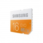 Samsung Electronics EVO SDHC TF Memory Card - Orange + White (16GB / Class 10)