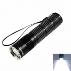 KINFIRE KF-12 LED 630lm 5-Mode White Light Flashlight - Black (1 x 18650 or 26650)