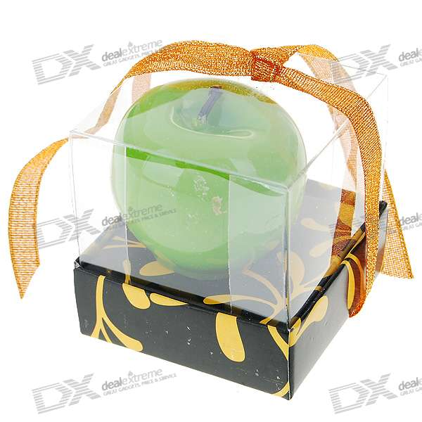 Fragrance Releasing Charming Apple Wax Candle (Assorted Color)