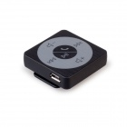 MOCREO Clipper manos libres Bluetooth Audio Adapter receptor w / Mic de 3.5mm Dispositivos - Negro
