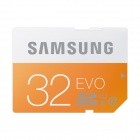 Samsung Electronics EVO SDHC SD Memory Card - Orange + White (32GB / Class 10)