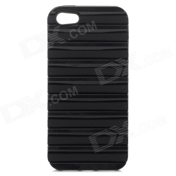 Ladder Style Protective Silicone + PC Back Case Cover for IPHONE 5 / 5S - Black аксессуар чехол samsung galaxy a3 2017 cojess tpu 0 3mm transparent
