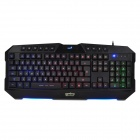 Genius Zeus USB 2.0 Wired 104-Key Gaming Keyboard w/ 10-Multi-media Keys - Black