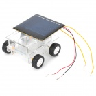 DIY Assembly Solar Powered Car Toy for Children - Green + Black + Multi-colored