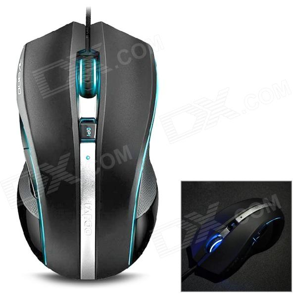 rapoo-v900-usb-20-wired-8200dpi-laser-gaming-mouse-w-light-black