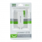 UGREEN 20268 USB 2.0 10/ 100Mbps Portable Wired Network Adapter - White
