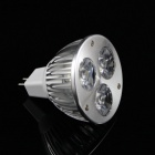 KINFIRE GX5.3 3W 240lm 3-LED Cold White Spotlight Bulb (DC 12V)
