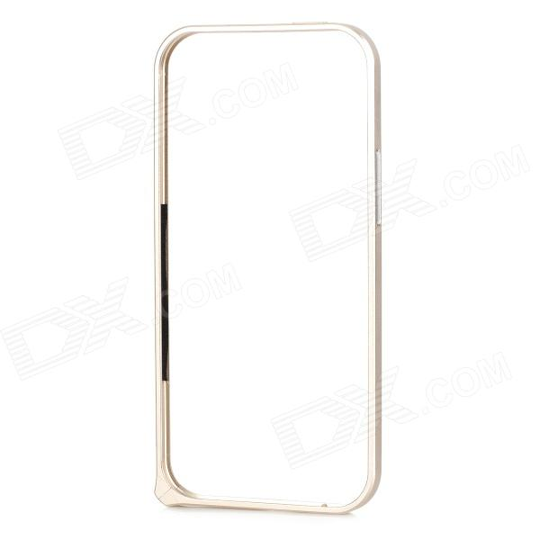 Protective Aluminum Alloy Bumper Frame Case for HTC One2 M8 - Champagne