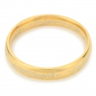 """The One Ring"" Style 316L Stainless Steel Ring - Golden (US Size: 12)"