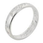 """The Lord of the Rings"" Style Zinc Alloy Ring - Silver (US Size: 11)"