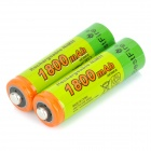 Bestfire 1.2V 1650mAh Rechargeable Ni-MH AA Battery - Green + Multi-colored (2PCS)
