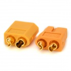XT60 Male to Female Connectors - Yellow (20PCS)