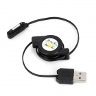 Retractable USB Male to Magnetic Connector Male Cable for Sony L39H / XL39h / Z2 / Z1 / Z2 Mini