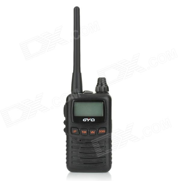 GYQ-3500 5W 1.35 Screen Display 16-Channel 400~470MHz Walkie Talkie Set w/ Voice Encryption - Black