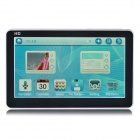 4.3 '' HD Touchscreen MP5 w / FM - White + Black (8 GB)