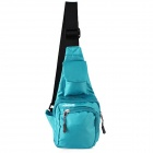 HONGYS YS-2002 Waterproof Nylon Casual Outdoor Hiking Single Shoulder Messenger Bag - Blue