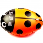 Tykk PVC oppdrift Ball svømming hjelpemiddel for barn - Orange + Black