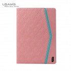 USAMS IPASL04 PU Leather + PC Case for IPAD AIR - Pink
