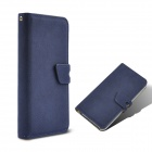 Angibabe abcd321 2-in-1 Detachable PU Leather Case Cover for IPHONE 5/ 5S - Sapphire Blue