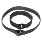 Acecamp 9113 2.5 x 60cm Velcro Buckle Compression Belt - Grey (2PCS)