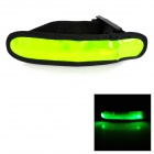 Sports Safety Warning Reflective LED Light Armband - Green